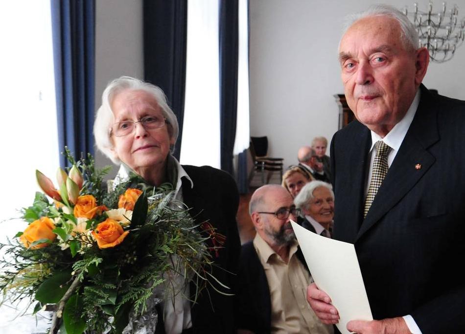 Ellen Scheerbarth und Dr. Hans-Ulrich Klose
