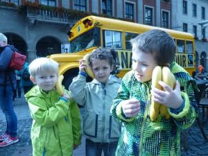 Hello..Neuss calling! Die Bananen sind wieder super dieses Jahr!